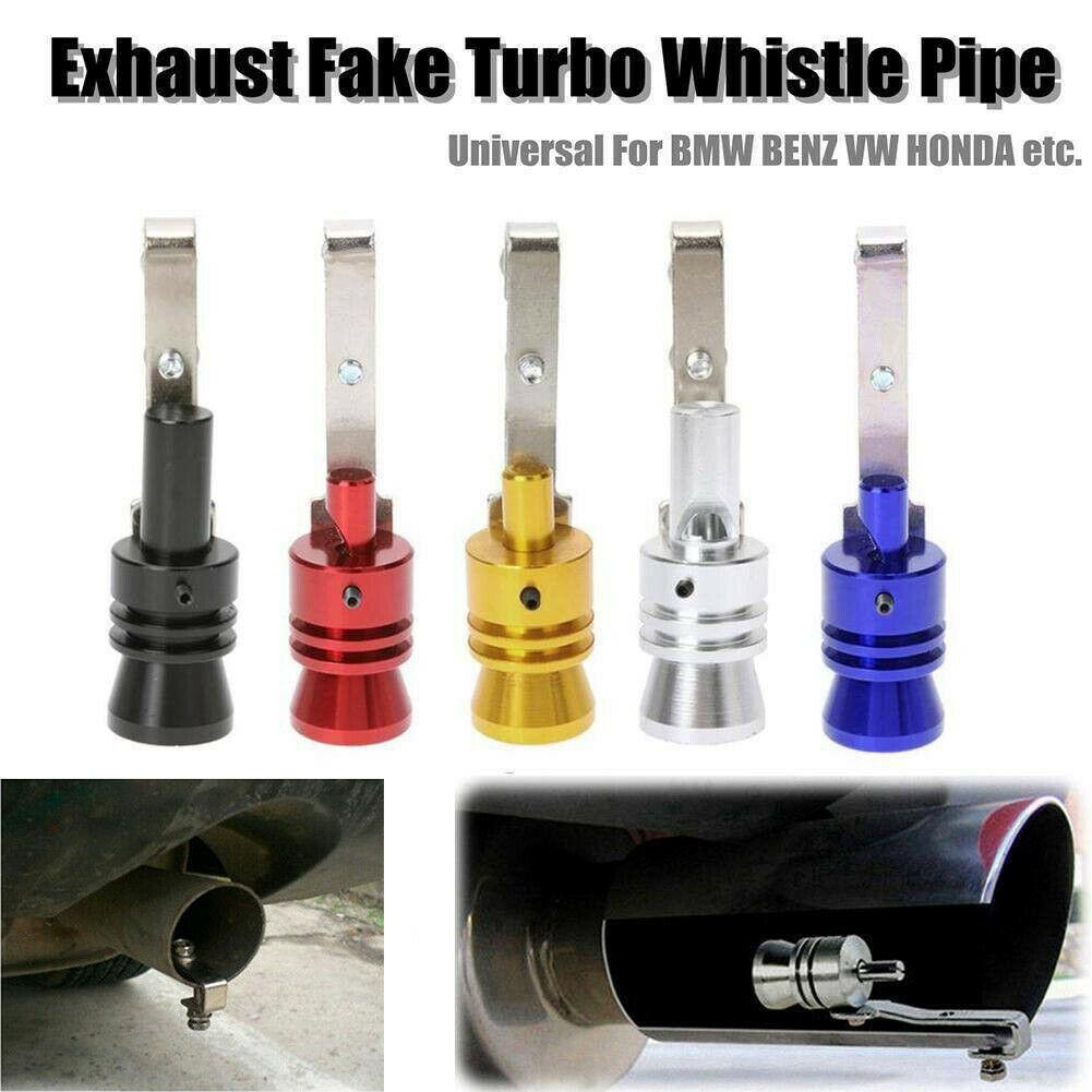 Universal Black Fake Turbo Sound Exhaust Blow off Valve Simulator Whistler XL